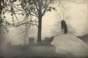 Cemetery Fog by ThreeWillows