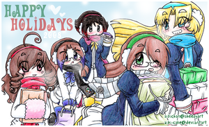 TMM - Happy Holidays 2008 by Ai-Bee