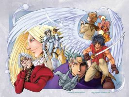 Escaflowne by Kalleder