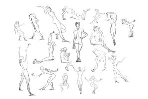 Life Drawing Part 2! by Britt315