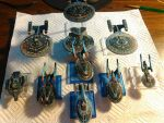 Star Trek Attack Wing Federation (Reich) Repaint by Lord-Malachi
