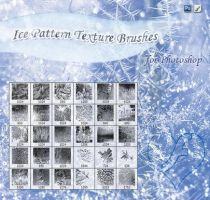 Ice Patterns Texture Brushes by WaleeD-Ps