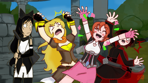 Panel redraw: RWBY Episode 8 by TheAtomicPumpkin