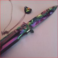Crystals and Knives by ChibiCelina