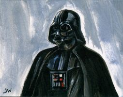 Darth Vader Sketch Card ACEO by Stungeon