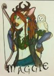 Faire Badge::Maggie Hazelton by ThatOneDumbDeer