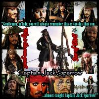 Captain Jack Sparrow: You Will Always Remember by MakorraLove12