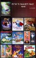 My Top 10 Fav Childhood Movies by KessieLou