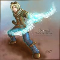 League of Legends - Ezreal by ClowKusanagi