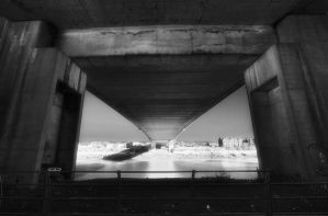 Under a bridge by Oldtoppy