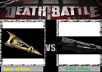 Death Battle super starships by userup