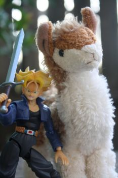 Defend the Llama! by here-and-faraway