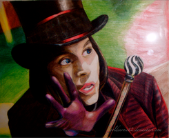 Willy Wonka by goldenrose12