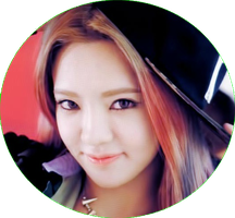 HYOYEON SNSD [CIRCLE PNG] by PowerBerry10