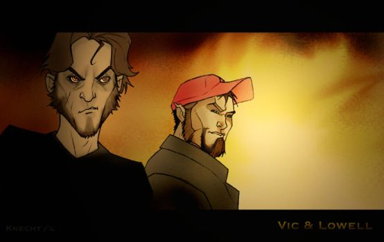 Vic and Lowell by 1ststreetstudio