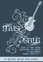 Muse Gig poster final by twinibird