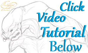 Drawing a detailed elite tutorial part 1 - Youtube by MuddyTiger
