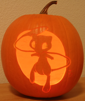 Mew Pumpkin Lightness by johwee