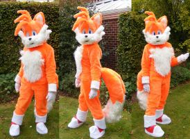 Tails Cosplay by THUNDER-THUNDER