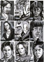 Topps SWG6 Sketch Cards 5 by SSwanger