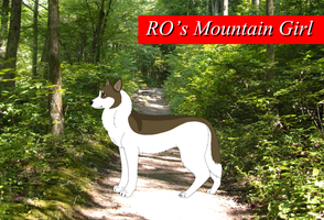 *SOLD* RO's Mountain Girl Reference by BlackBearRanch