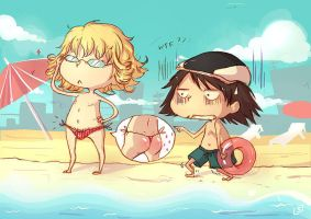 Tiger and Bunny: The Beach by Sylenth
