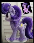 My Little Pony Plush Commission CLEAR SKIES by CINNAMON-STITCH