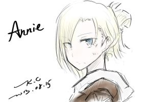 Attack on Titan (Annie Leonhardt) by Babyface9247