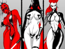 Sith Triad Chics ClosUp by Chupanza