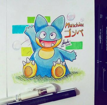 Lil Munchlax || Commission by Ppoint555