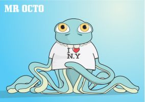 Mr Octo by RandyRockstiff