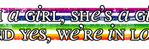 and yes we're in love by TheLesbianClub