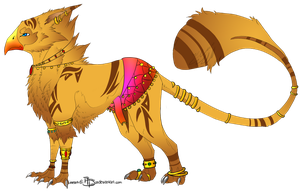 Egyptian Griffin - CONTEST - by Auzie-Angel