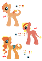 Pokeponies Adopt 004-006 {Closed} by perfectnesspony