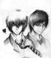 Okumura Twins by XSpiritWarriorX