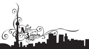 Nuit Blanche Typography by Tora-Michelle