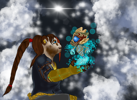 Alicara and the spirit by Useperous