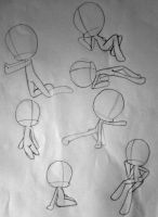 Chibi Poses 15 by xXFF7xYaoixX