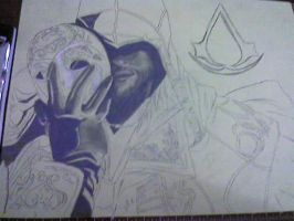 Behind the Mask WIP by ForeverFallen16