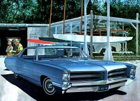 After the age of chrome and fins:1966 Pontiac by Peterhoff3