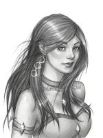 Aloria commission by clauvert
