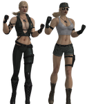 Mortal Kombat - Sonya Blade pack XNAlara by MKiss333