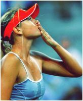 Maria Sharapova_USO by leftysrock