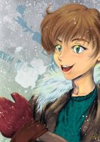 Snow Time! by GiselleLlamas