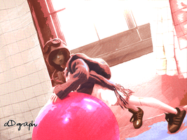 99 Red Balloons series no.3 by odoll