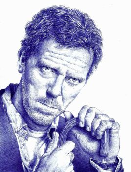 Hugh Laurie by BannanaPower