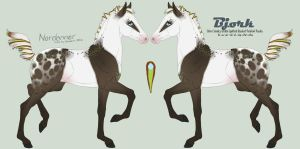 5313 Bjork Foal Design Holder by HoT-Stables