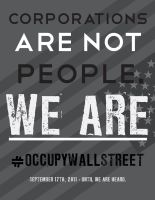 OCCUPY WALL STREET POSTER 3 by James-S-Flynn