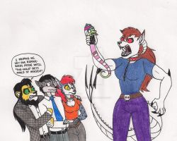 Trouble In Toxin's House by 13foxywolf666