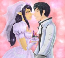 You May Now Kiss the Bride by FFXI-Artico